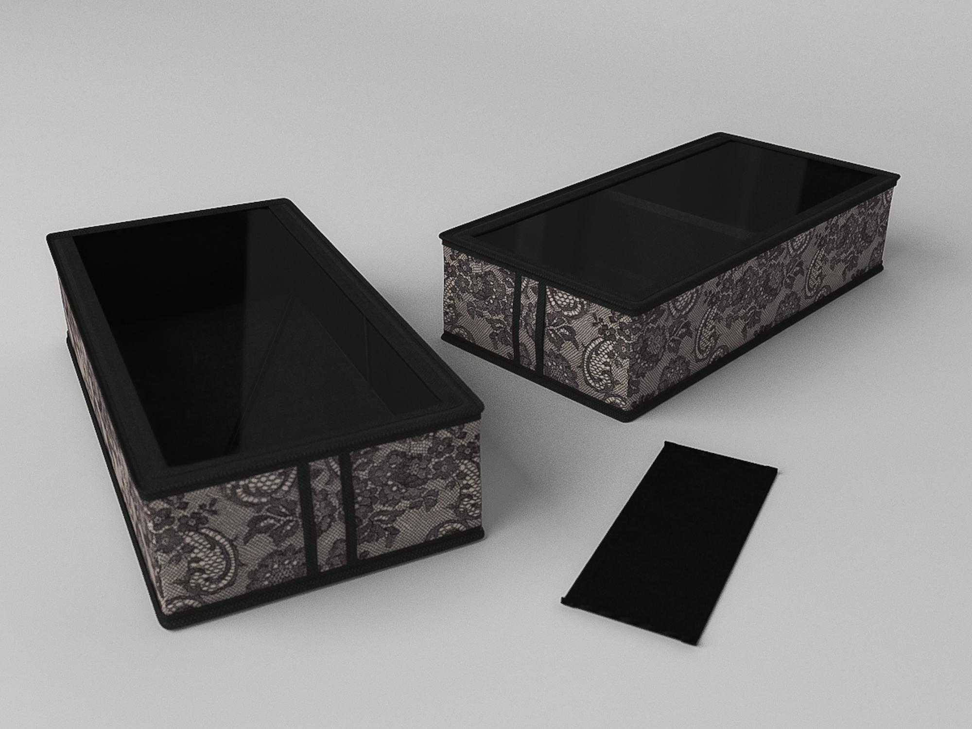 Кофр для обуви Ажур (12х26х52 см) CoFreT cfr288395