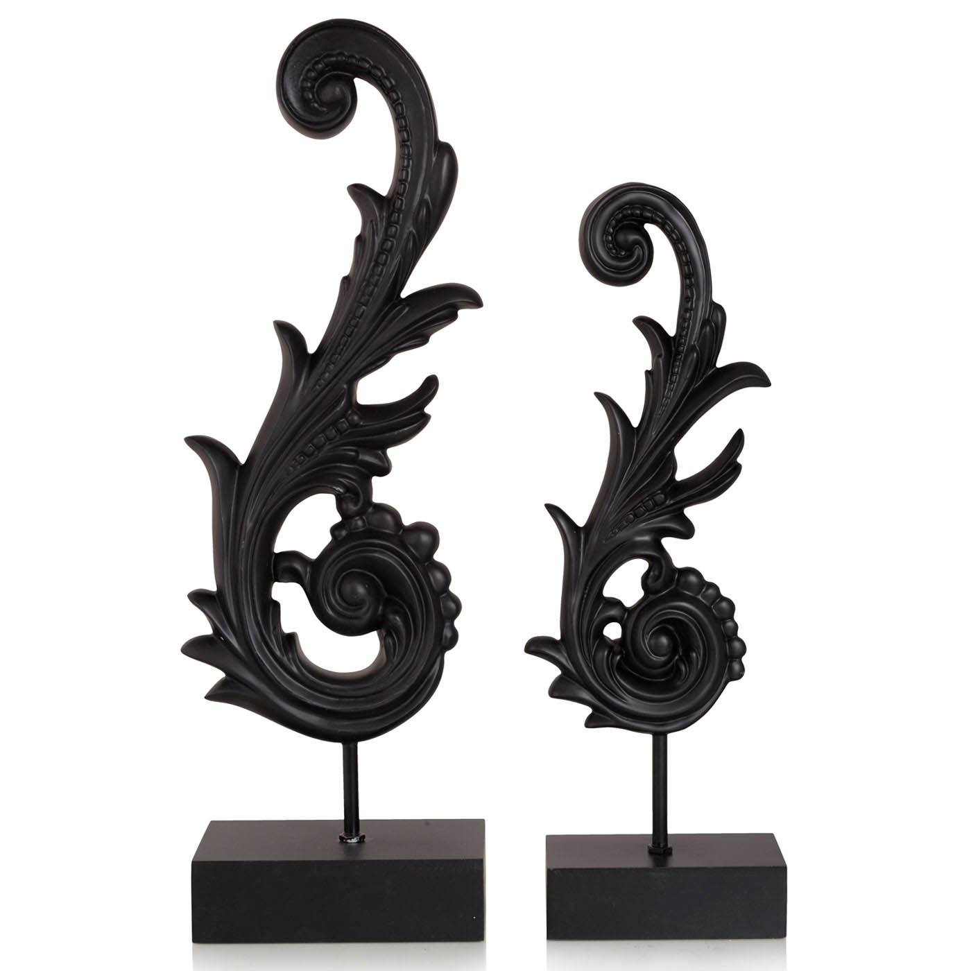 Купить Статуэтки и фигурки Home Philosophy, Фигурка Kanew Цвет: Черный (10х17х53 см, большая), Китай, Полирезин