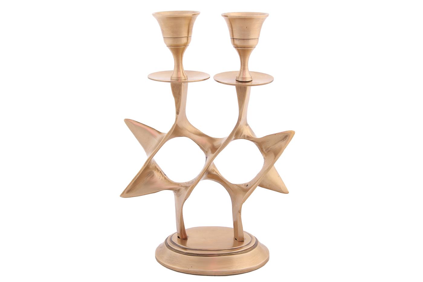 Декоративные свечи Ганг Подсвечник Звезда (7х13х18 см) подсвечники ганг подсвечник