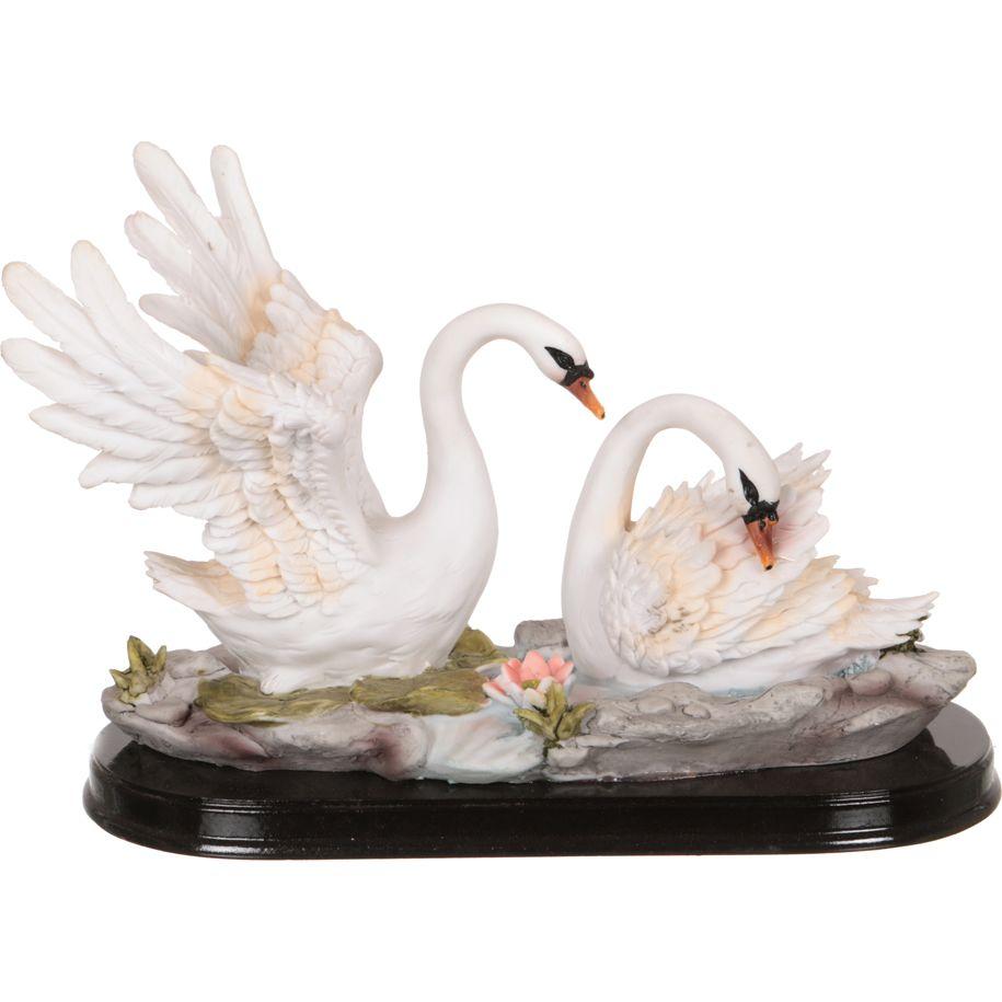 Фигурка Влюбленная Пара Лебедей (17х25 см) фото