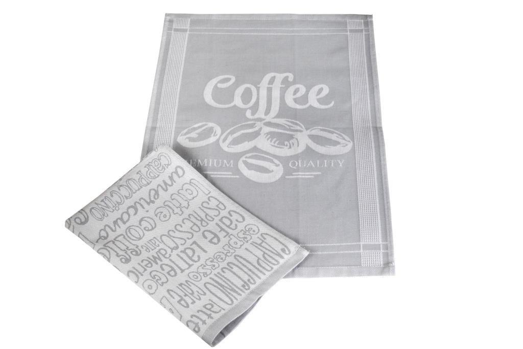 Полотенца Toalla Кухонное полотенце Espresso (40х60 см - 2 шт) bon appetit кухонное полотенце cake цвет голубой 40х60 см 2 шт
