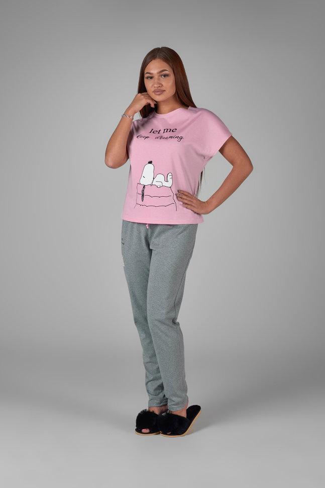 Пижама Nichola Цвет: Розовый, Серый (50) Неженка nek645841