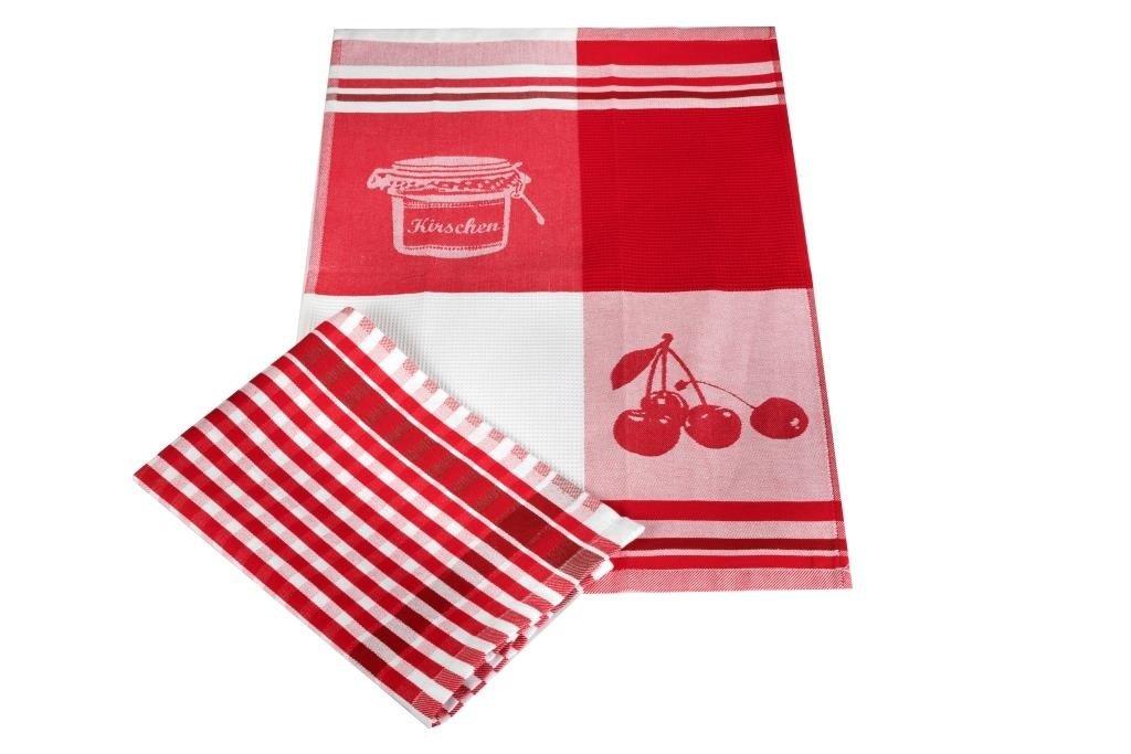 Полотенца Toalla Кухонное полотенце Варенье (40х60 см - 2 шт) bon appetit кухонное полотенце cake цвет голубой 40х60 см 2 шт