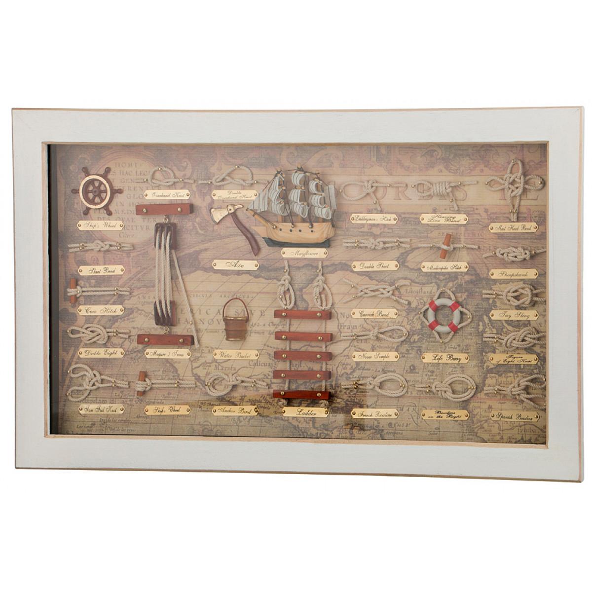 Картины, постеры, гобелены, панно Arti-M Картина Wallace (4х30х50 см)