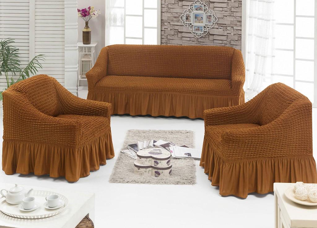 Комплект чехлов на диван и на два кресла Selma