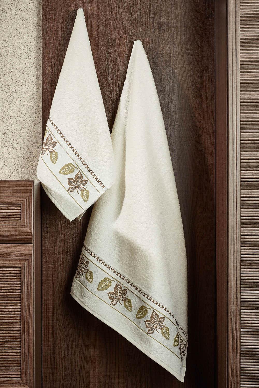 где купить Полотенца Primavelle Полотенце Lea Цвет: Слоновая Кость (50х90 см) по лучшей цене