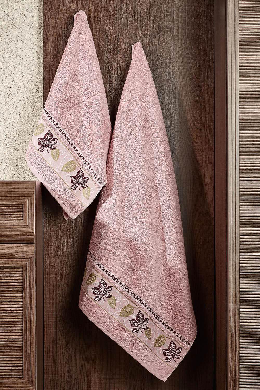 где купить Полотенца Primavelle Полотенце Lea Цвет: Сухая Роза (50х90 см) по лучшей цене