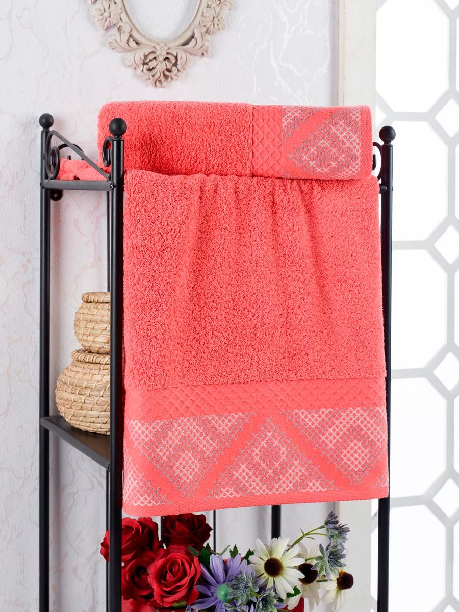 Полотенце Rosheen Цвет: Гранатовый (70х140 см)