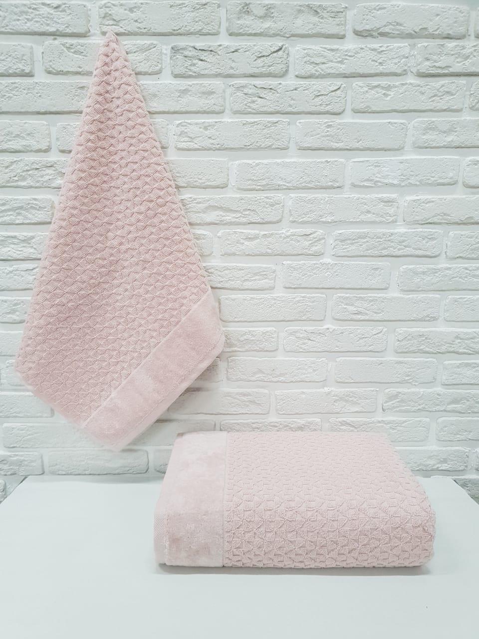 Полотенце Baxter Цвет: Розовый (70х140 см)