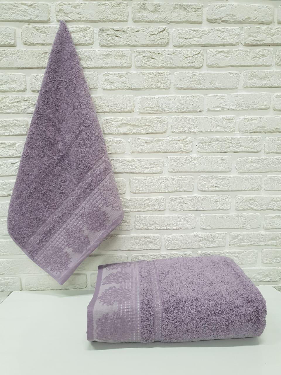 Полотенце Alexus Цвет: Темно-Фиолетовый (70х140 см)