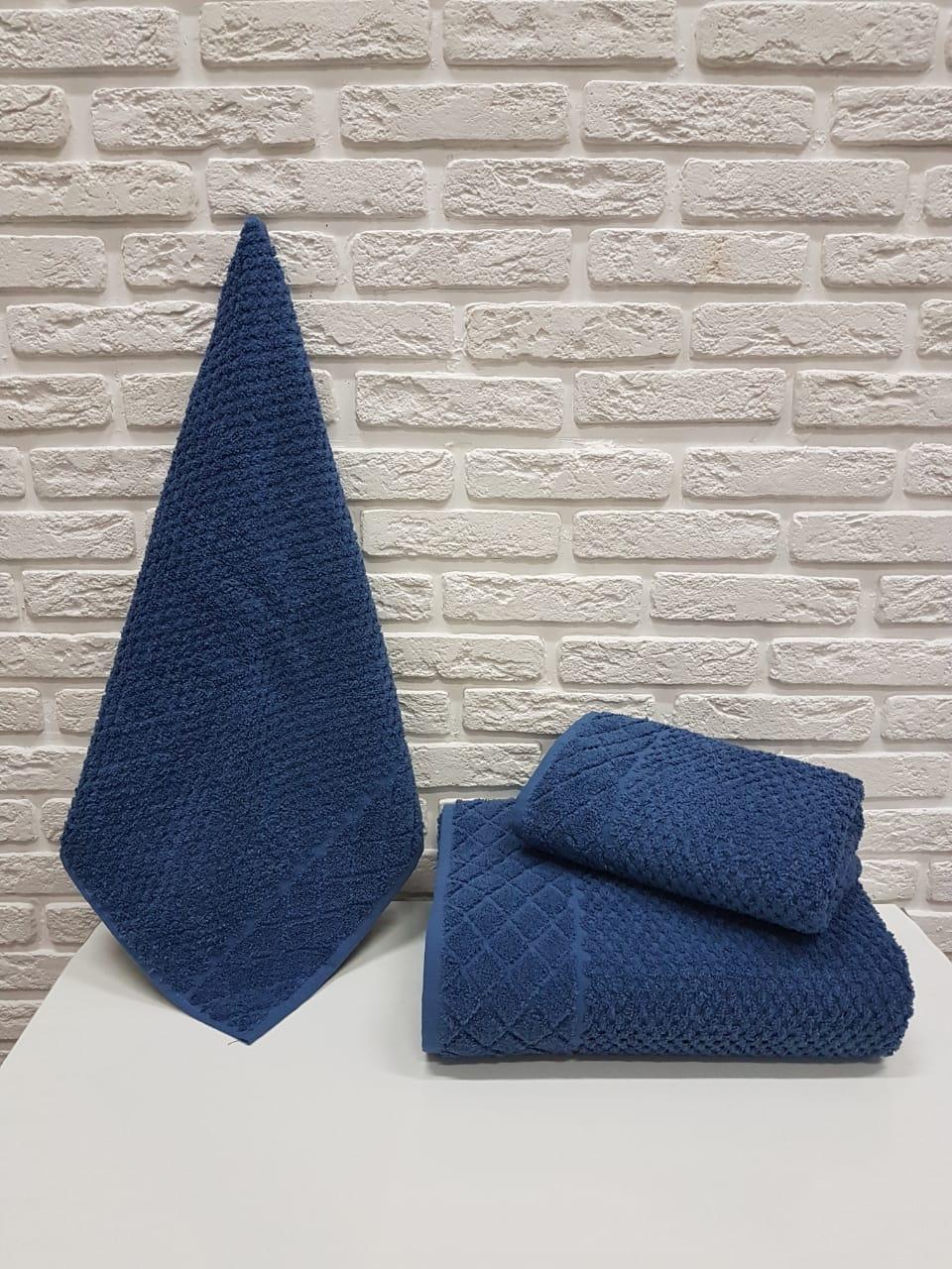 Полотенце Davis Цвет: Синий (50х90 см)