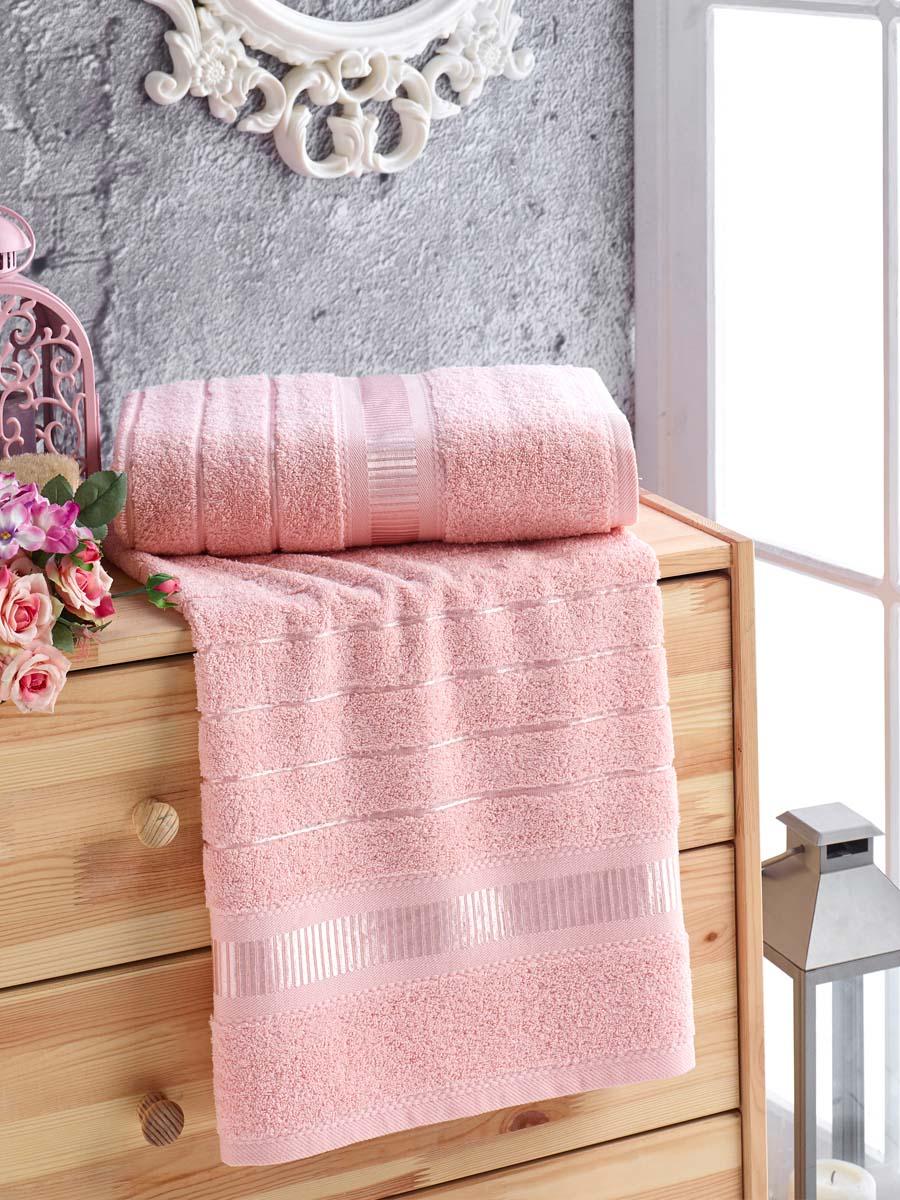 Полотенце Jen Цвет: Пудра (50х90 см)
