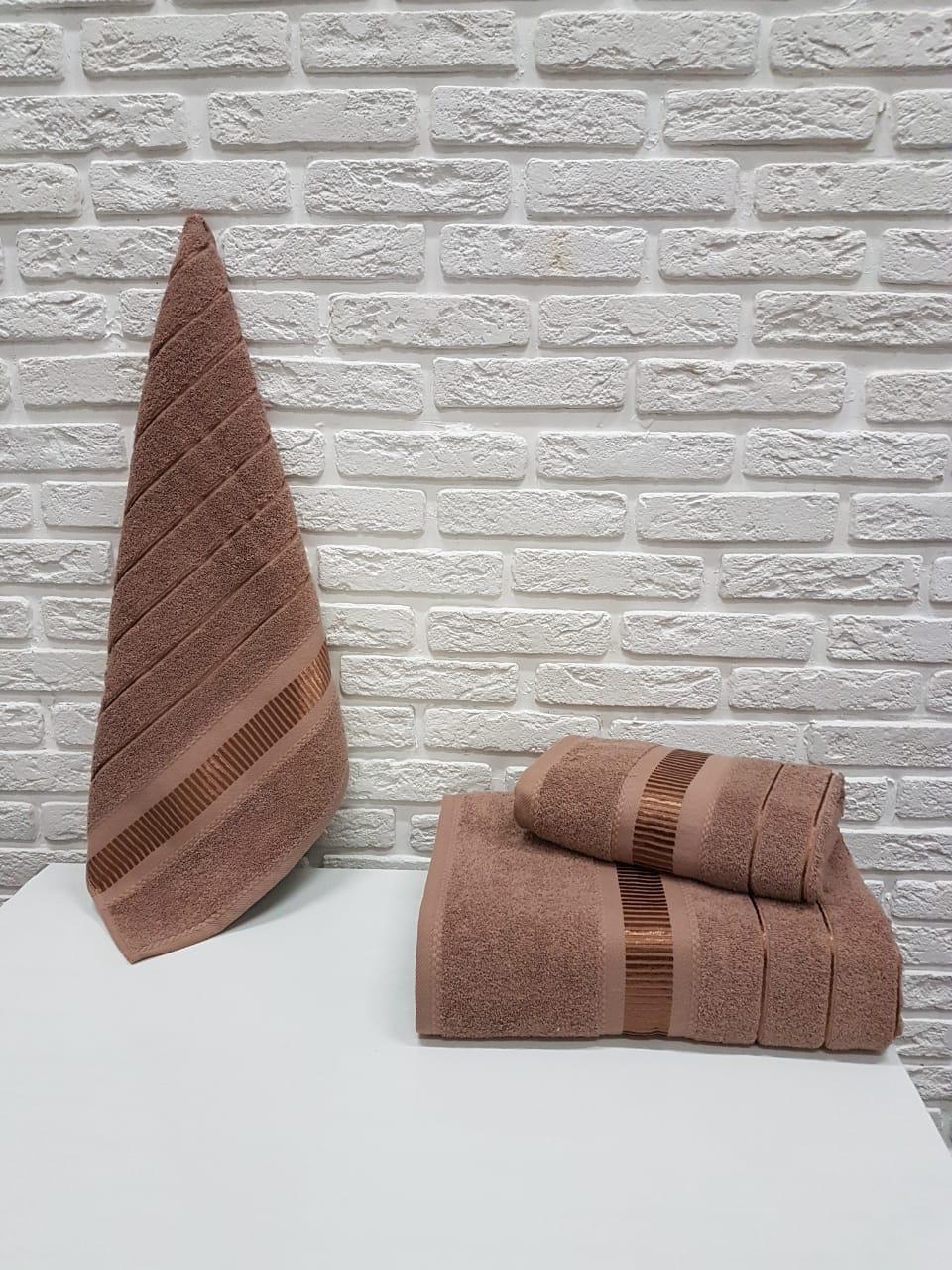 Полотенце Jen Цвет: Коричневый (50х90 см)