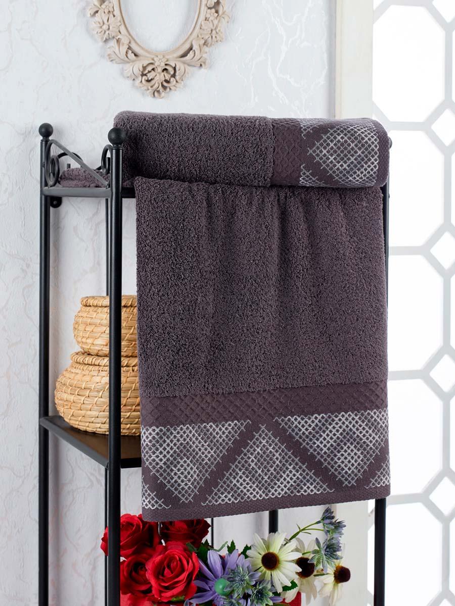 Полотенце Kiara Цвет: Темно-Серый (50х90 см)