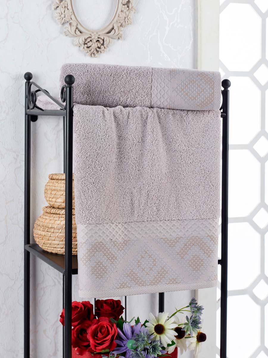 Полотенце Kiara Цвет: Серый (50х90 см)