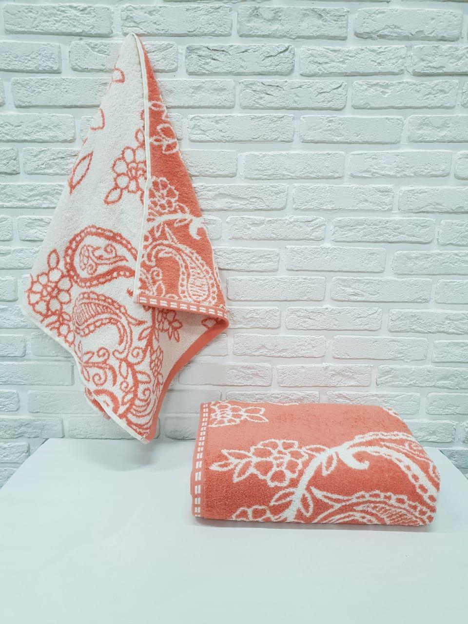Полотенце Adelicia Цвет: Коралловый (50х90 см)