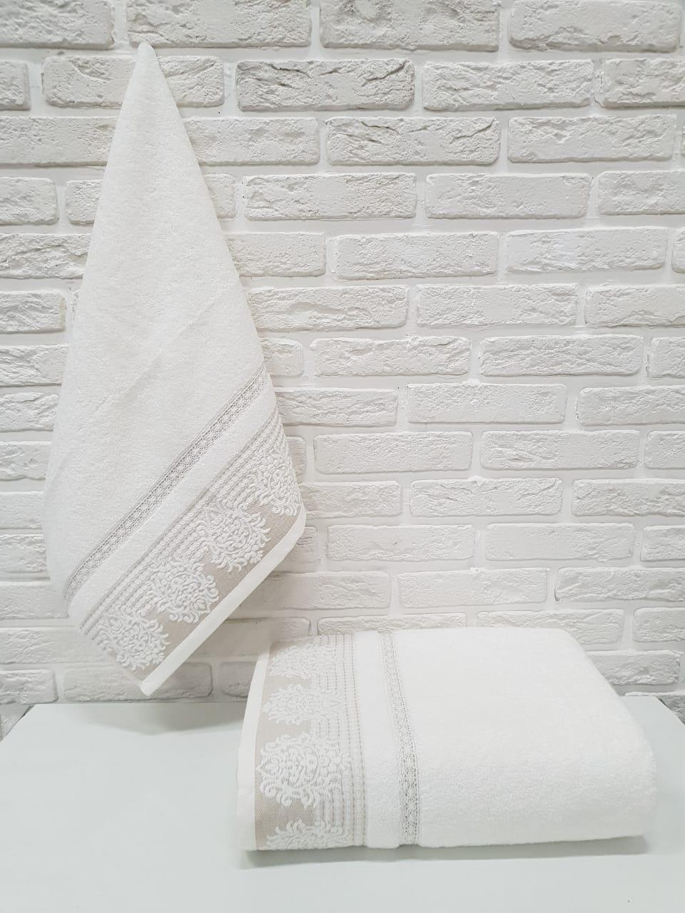 Полотенце Claudia Цвет: Кремовый (50х90 см)
