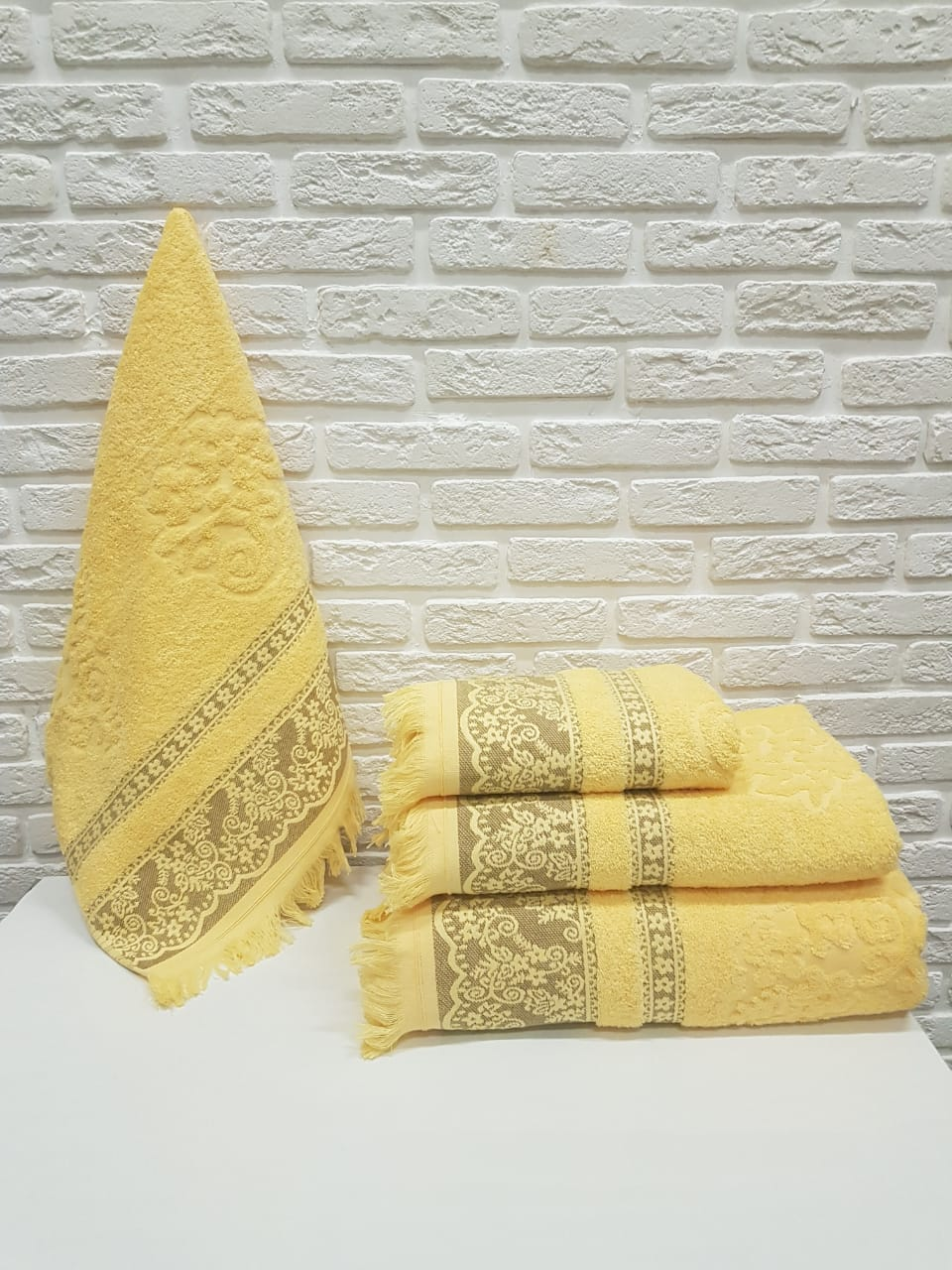 Полотенце Vance Цвет: Жёлтый (70х140 см)