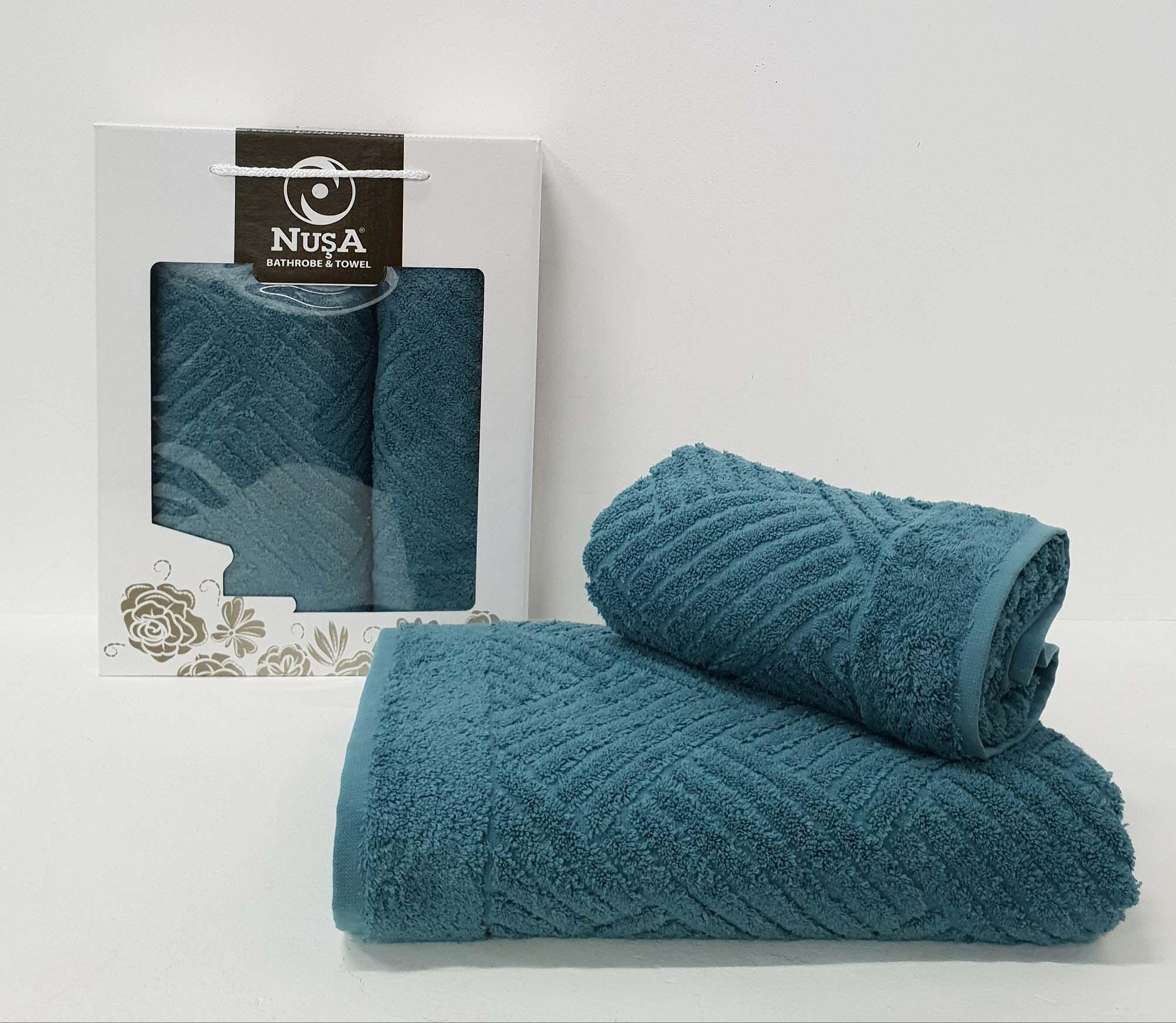 Набор полотенец Ahern Цвет: Зелёный (50х90 см,70х140 см)