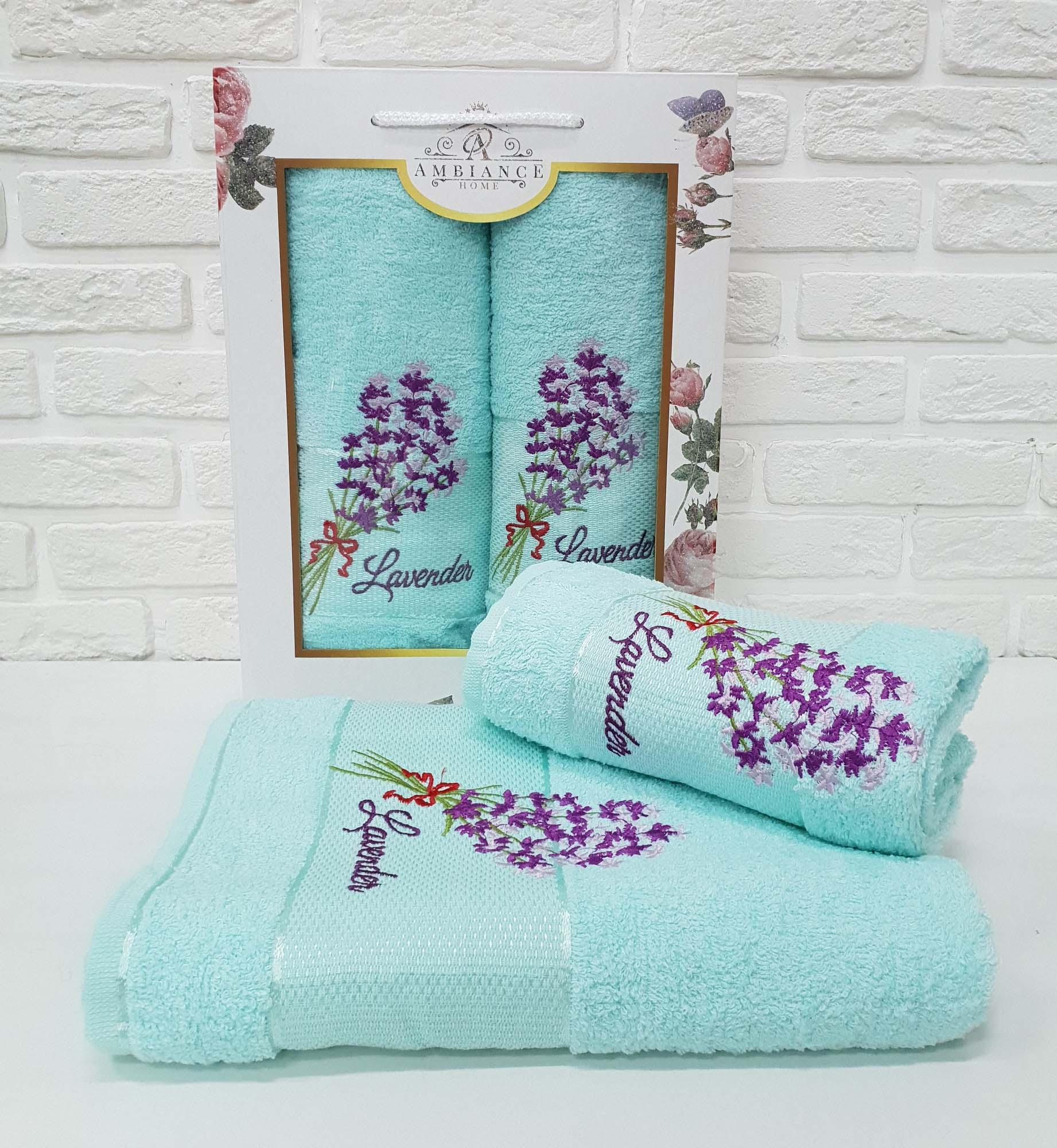 Набор полотенец Shawnee Цвет: Ментоловый (50х90 см,70х140 см)