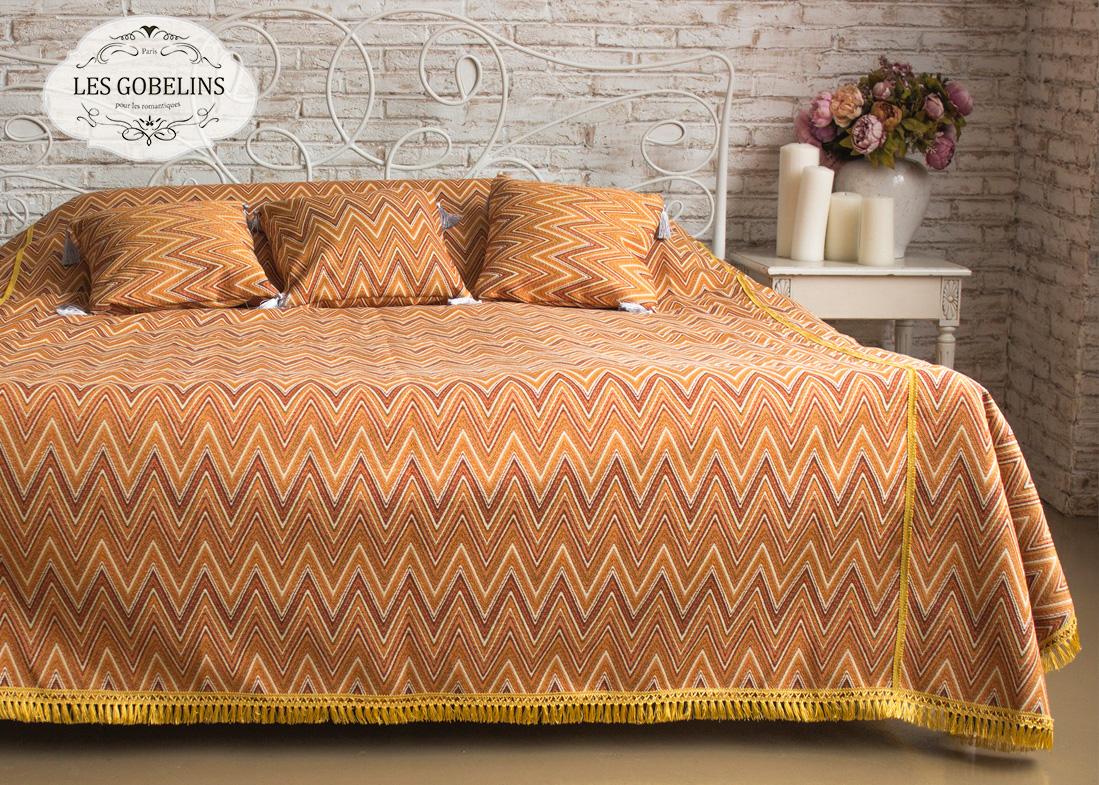 где купить Пледы и покрывала Les Gobelins Покрывало на кровать Zigzag (160х230 см) по лучшей цене