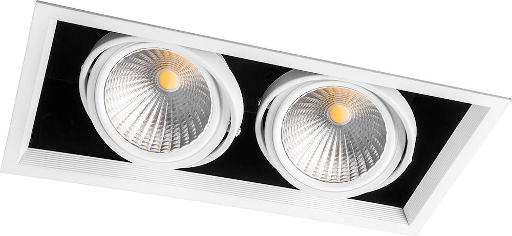 Купить Настенно-потолочные светильники Feron, Светильник потолочный Huey Цвет: Белый (19х37 см), Китай, Алюминий