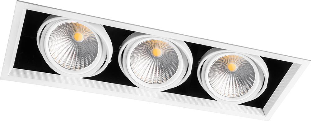 Купить Настенно-потолочные светильники Feron, Светильник потолочный Mona Цвет: Белый (19х50 см), Китай, Алюминий