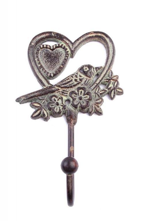 Вешалки-плечики Ганг Вешалка Птичка  Сердце (4х9х14 см - 6 шт)