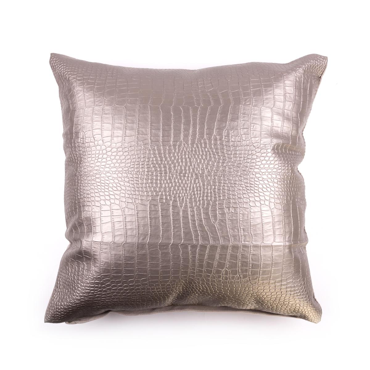 Купить Декоративные подушки Arya, Декоративная наволочка Aeryn Цвет: Серый (45х45 см), Турция, Полиэстер