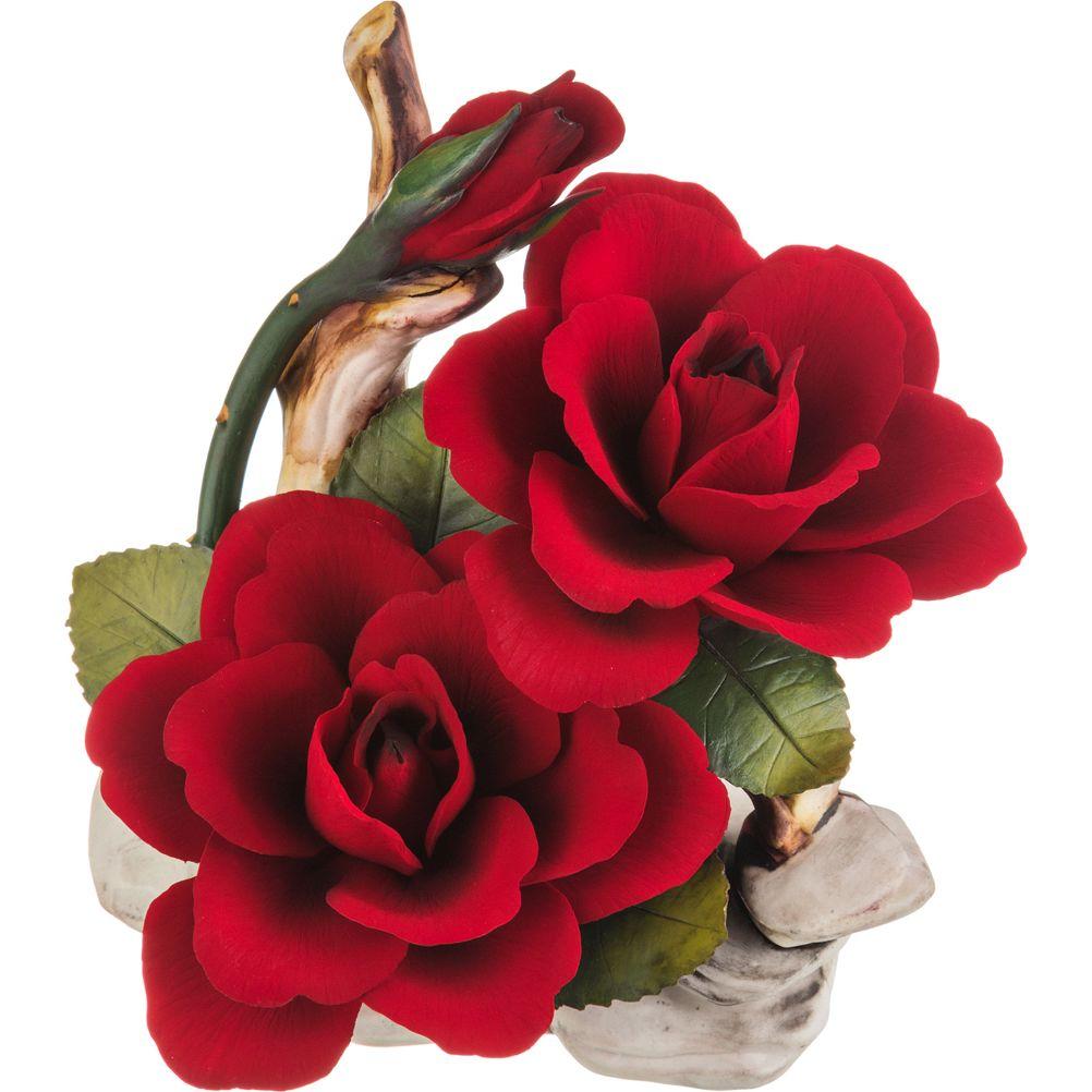 все цены на Искусственные растения Napoleon Искусственное растение Роза (17х19 см) онлайн
