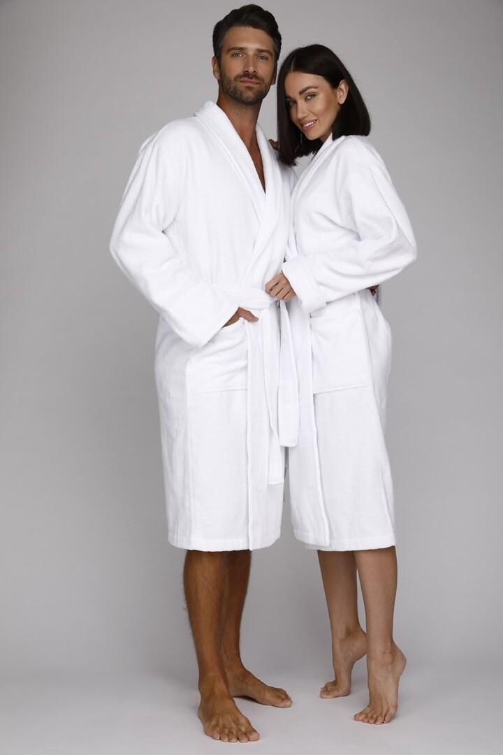 Банный халат Power Цвет: Белый (xxL) EvaTeks etx714135