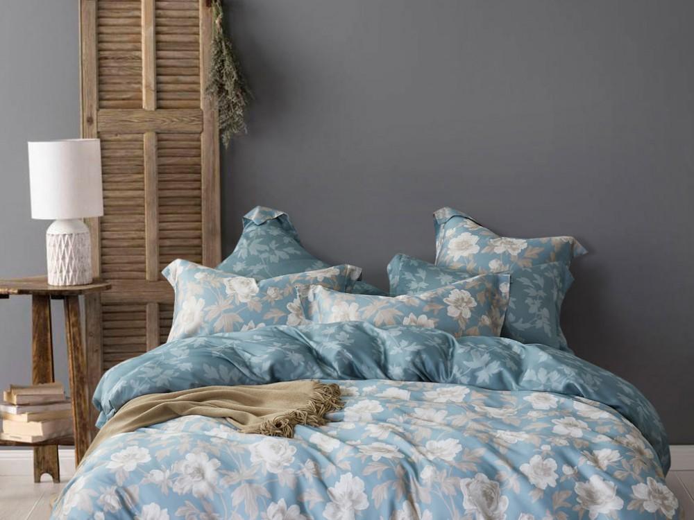 где купить Комплекты постельного белья Asabella Постельное белье Rebekah (2 сп. евро) по лучшей цене