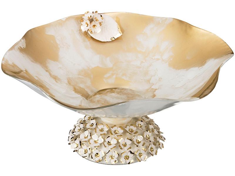 цены Вазы Franco s.r.l. Декоративная чаша Celeste (18х42 см)