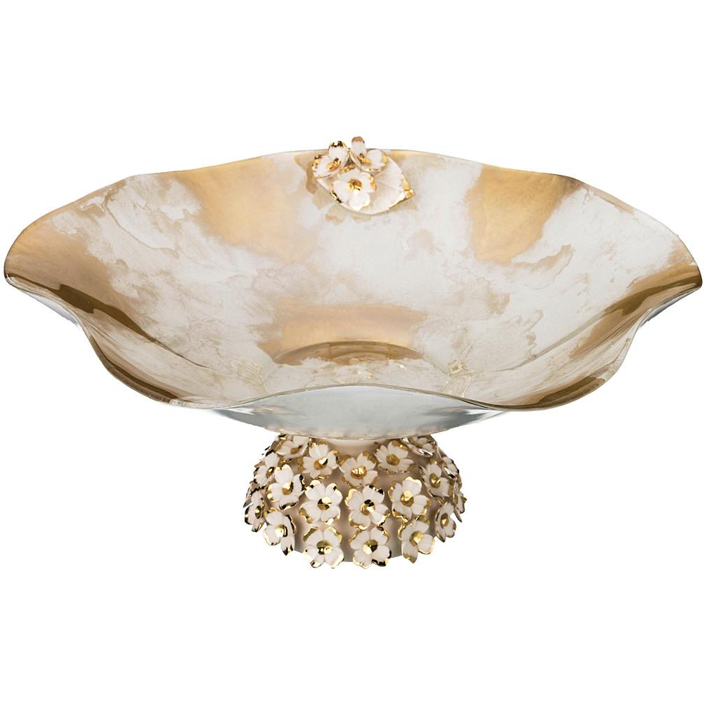 Вазы Franco s.r.l. Декоративная чаша Jane (16х35 см) чаша декоративная franco 316 1053