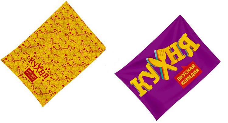 все цены на Полотенца Неотек Кухонное полотенце СТС Кухня Цвет: Фиолетовый, Желтый (50х60 см - 2 шт) онлайн