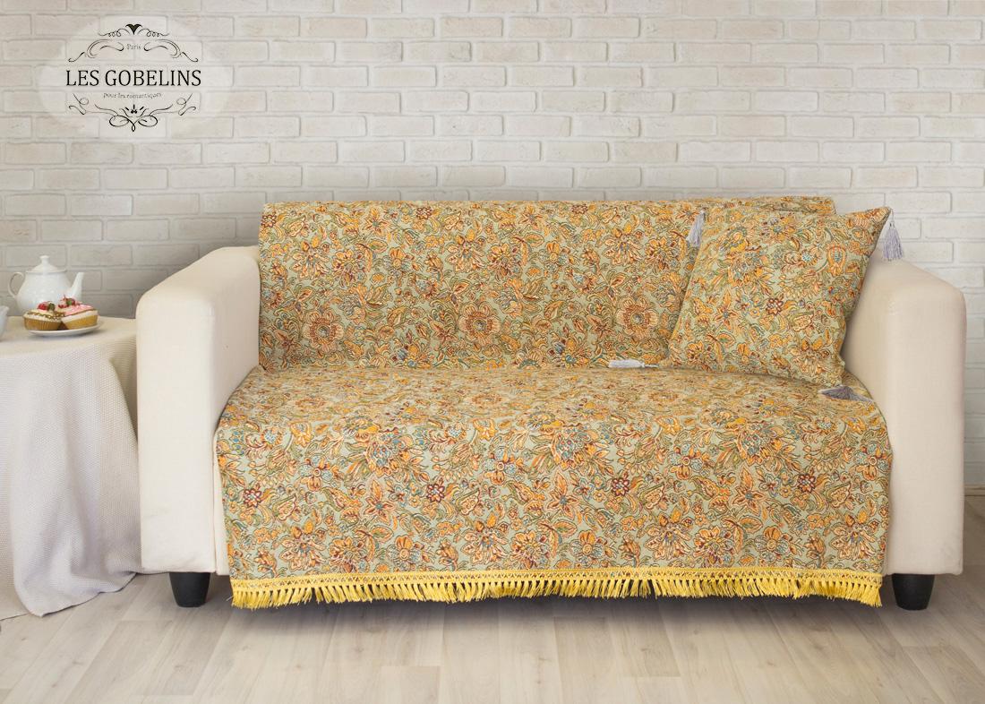 где купить Пледы и покрывала Les Gobelins Накидка на диван Vitrail De Printemps (150х200 см) по лучшей цене