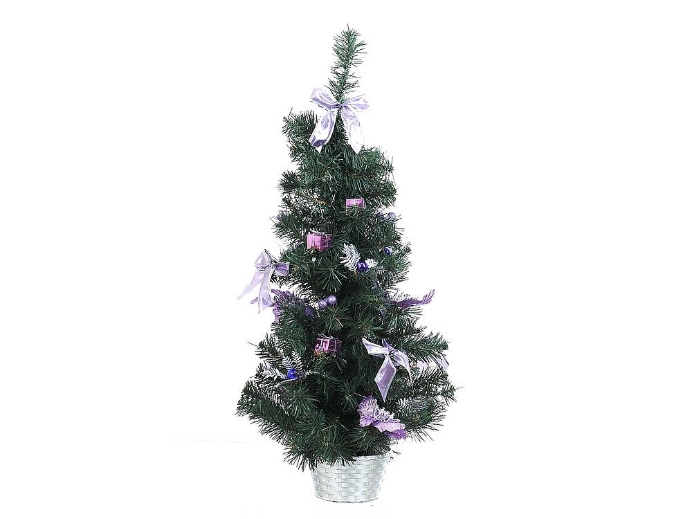 Искусственные растения Monte Christmas Ель новогодняя Linus (75 см) ель royal christmas sonora hook on tree 180 см 942180