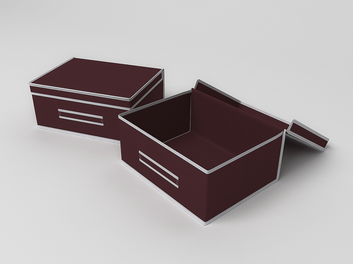 Кофр для хранения Классик Цвет: Бордовый (20х35х45 см) CoFreT cfr288634