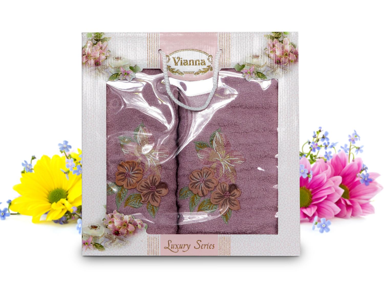 Купить Полотенца Vianna, Полотенце Quincy (50х90 см, 70х140 см), Турция, Махра