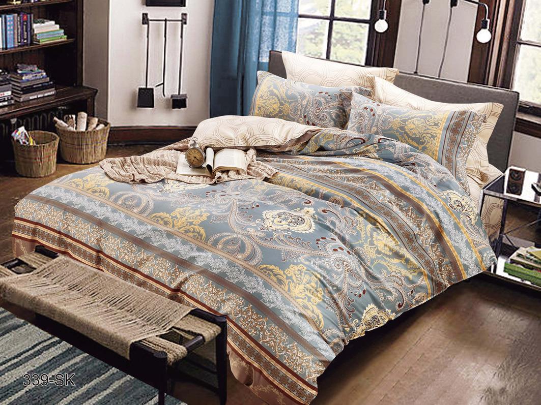 Комплекты постельного белья Cleo, Постельное белье Replay (семейное), Китай, Хлопковый сатин  - Купить