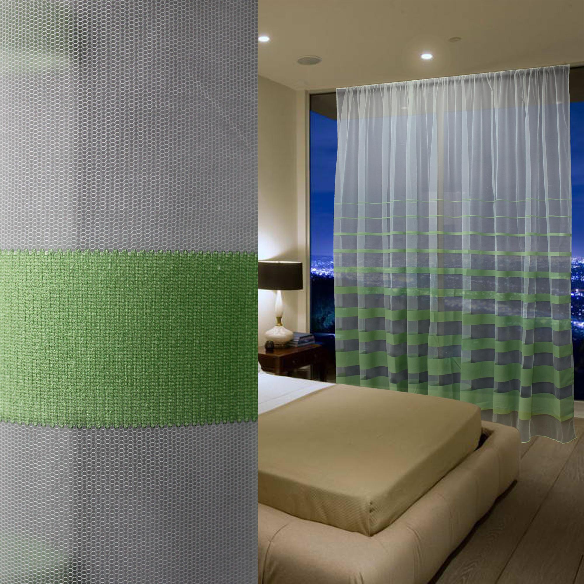 Купить Шторы Amore Mio, Классические шторы Regatta Цвет: Зеленый, Китай, Тюль