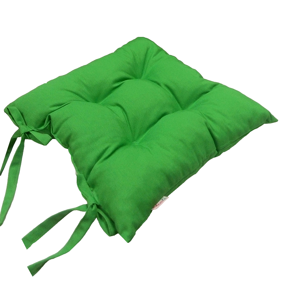 Купить Декоративные подушки Apolena, Подушка на стул Greenery (40х40), Россия-Турция, Зеленый, Поликоттон