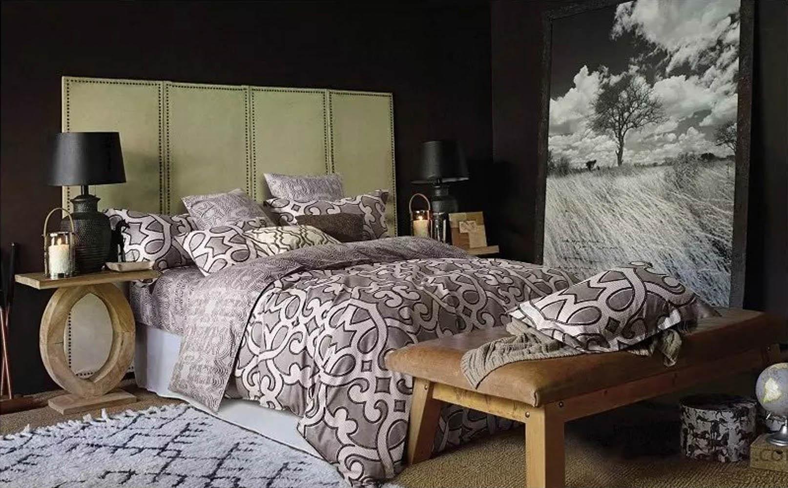 Купить Комплекты постельного белья Tango, Постельное белье Dan (1, 5 спал.), Китай, Коричневый, Кремовый, Хлопковый сатин