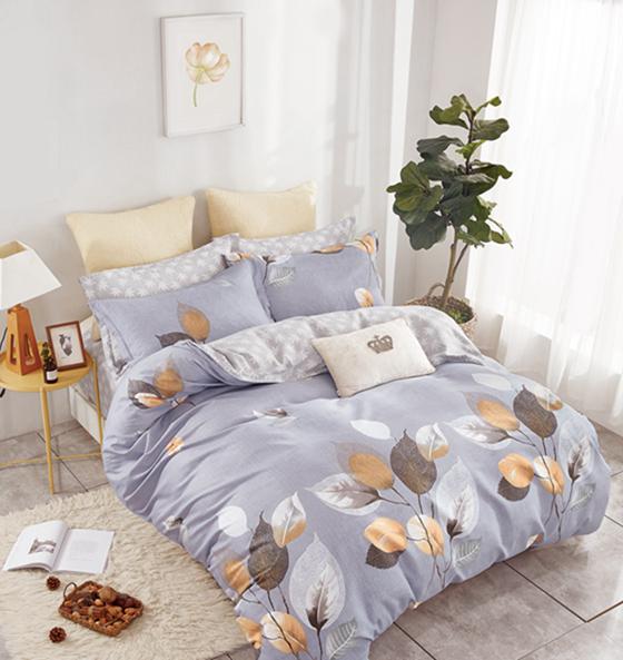 Купить Комплекты постельного белья Tango, Постельное белье Susannah (2 сп. евро), Китай, Серый, Хлопковый сатин