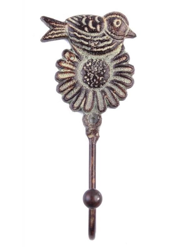 Вешалки-плечики Ганг Вешалка Птичка На Цветке (5х7х15 см - 6 шт)