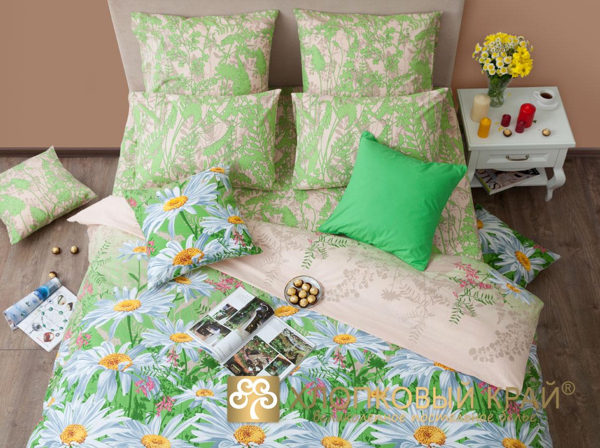 Комплекты постельного белья Хлопковый Край Постельное белье Ромашки (1,5 спал.)