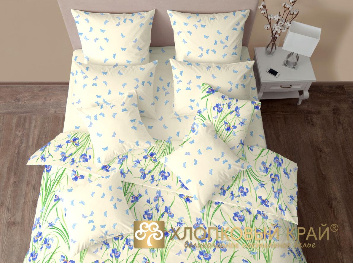 Комплекты постельного белья Хлопковый Край Постельное белье Ирисы (1,5 спал.)