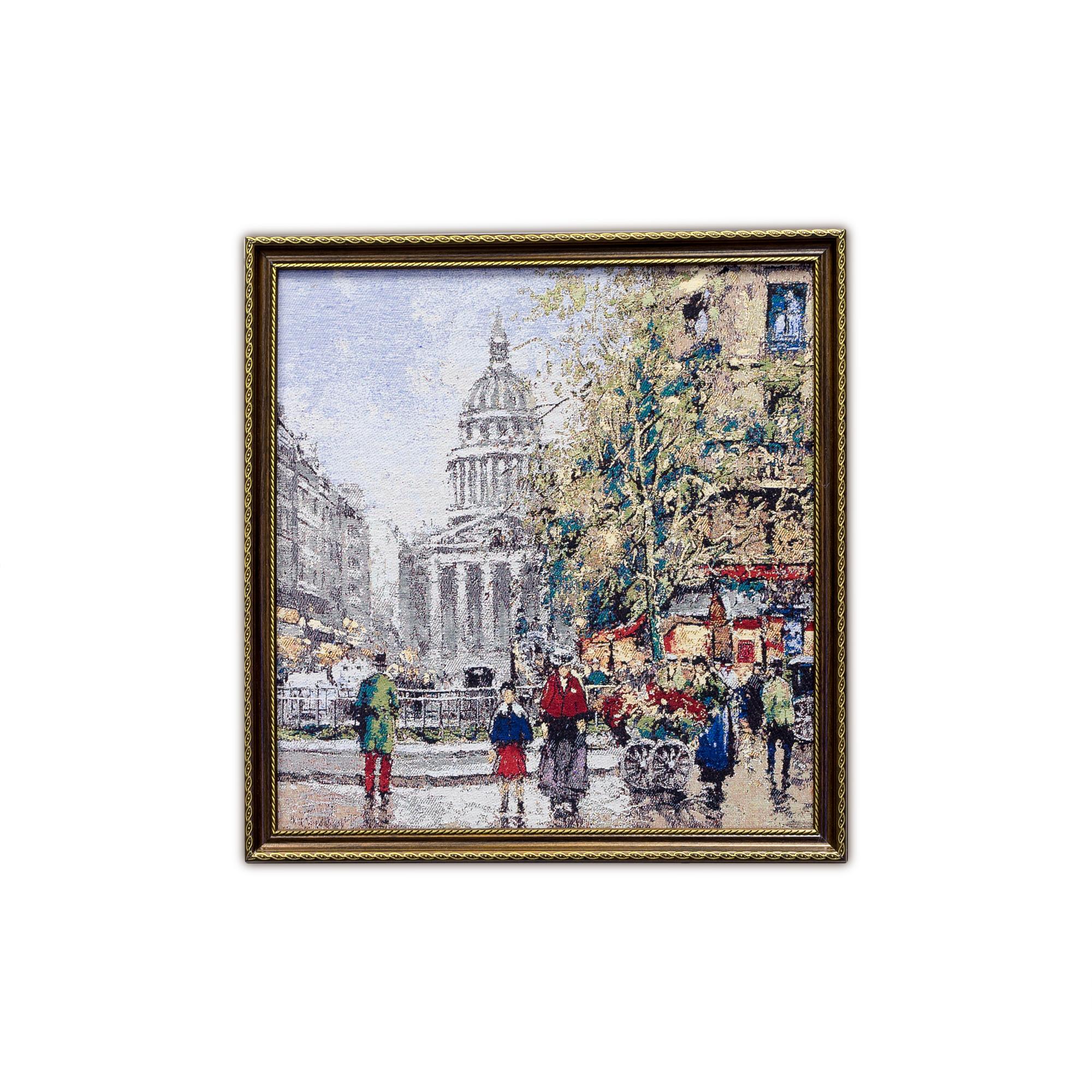Купить Картины, постеры, гобелены, панно A La Gobelin, Картина Исаакиевский Проспект (47х49 см), Россия, Гобелен