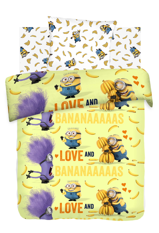 детское постельное белье Непоседа Детское Постельное белье Бананас (143х215 см) simon mignon детское постельное белье
