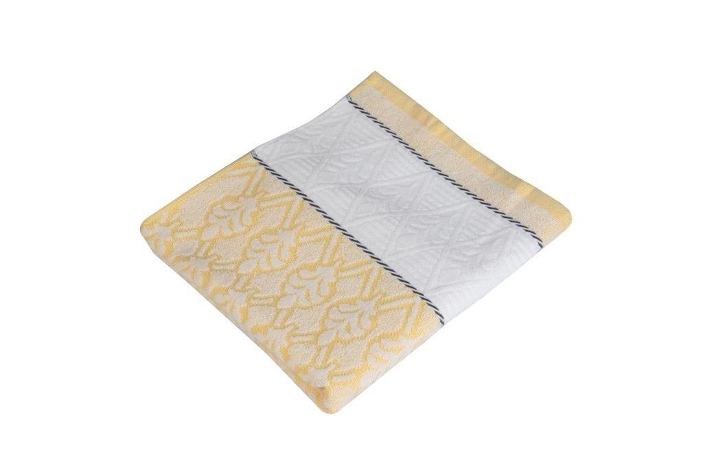 Полотенца Toalla Полотенце Крона Цвет: Светло-Желтый (50х90 см) полотенца soavita полотенце sandra цвет желтый 50х90 см